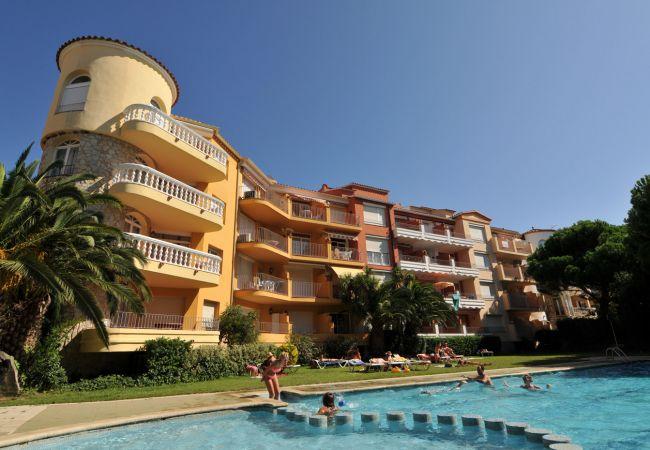 Apartamento en Empuriabrava - 164-Empuriabrava - Apartamento en primera linea de mar