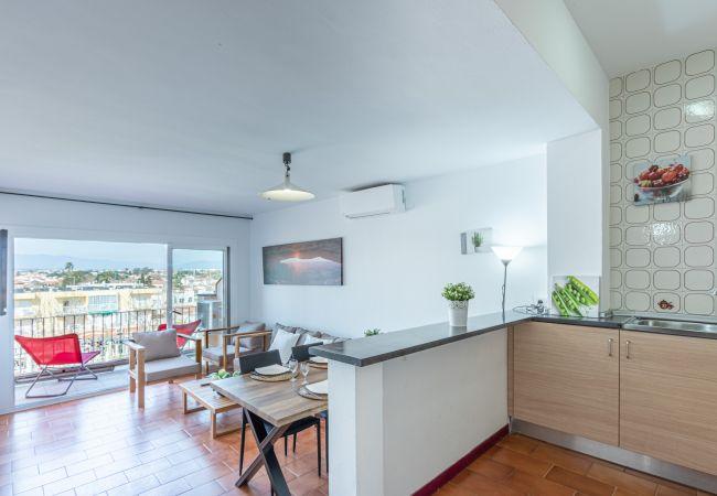 Apartment in Empuriabrava - 141-Apartment in Empuriabrava near the beach