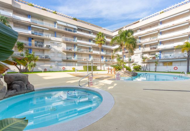 Apartment in Rosas / Roses - 166-Beautiful penthouse with pool in Roses. Port Canigo