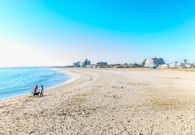 Ferienwohnung in Empuriabrava - COSTA BRAVA - Erste Meereslinie Wohnung- 129